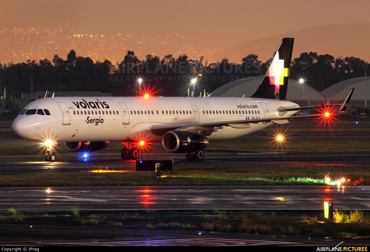 Volaris XA-VLT aircraft at Mexico City - Licenciado Benito Juarez Intl