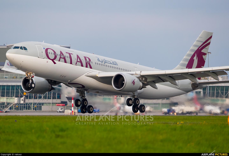 Qatar Airways A7-ACM aircraft at Warsaw - Frederic Chopin