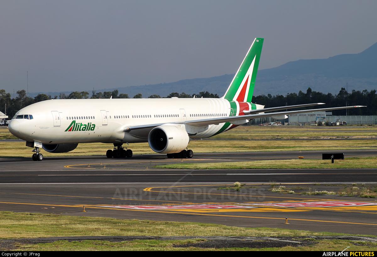 Jet Privato Alitalia : I disu alitalia boeing at mexico city