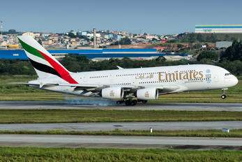A6-EOE - Emirates Airlines Airbus A380