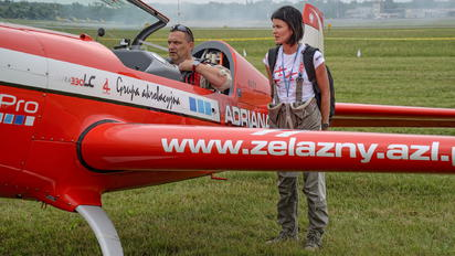 SP-AUP - Grupa Akrobacyjna Żelazny - Acrobatic Group - Aviation Glamour - People, Pilot