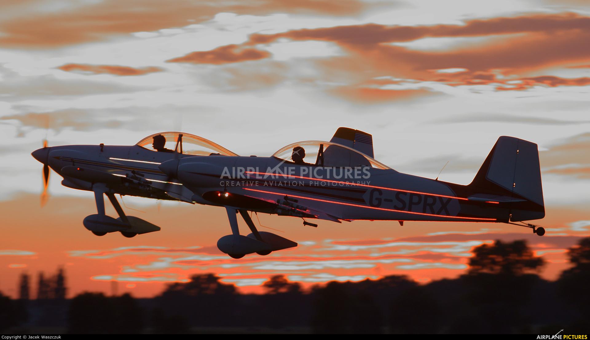 G-SPRX - Fireflies Aerobatic Display Team Vans RV-4 at