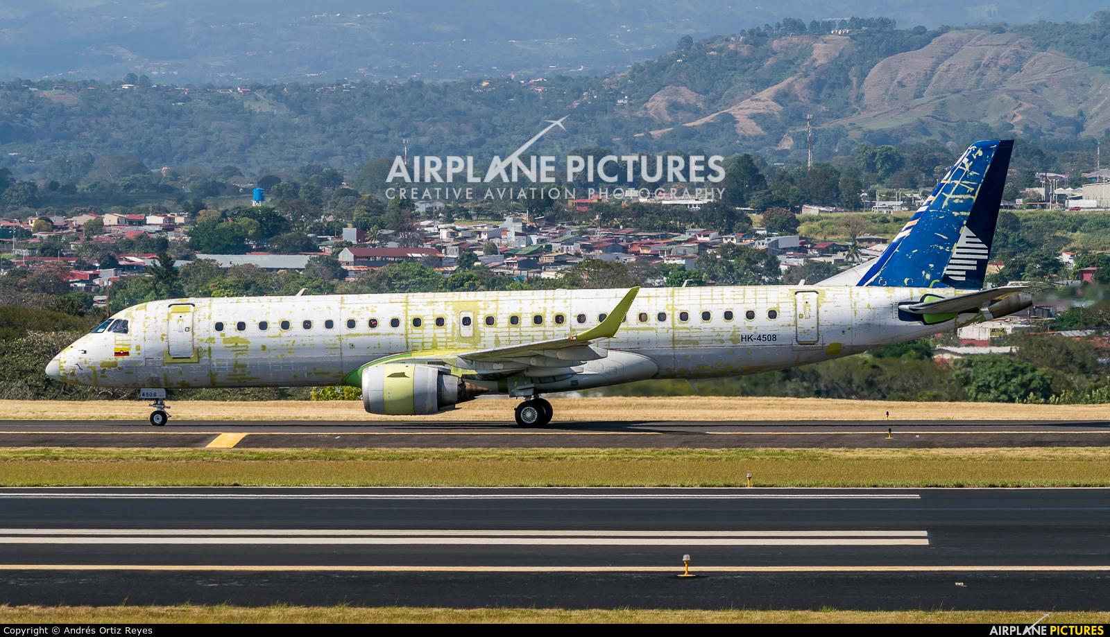 Copa Airlines Colombia HK-4508 aircraft at San Jose - Juan Santamaría Intl