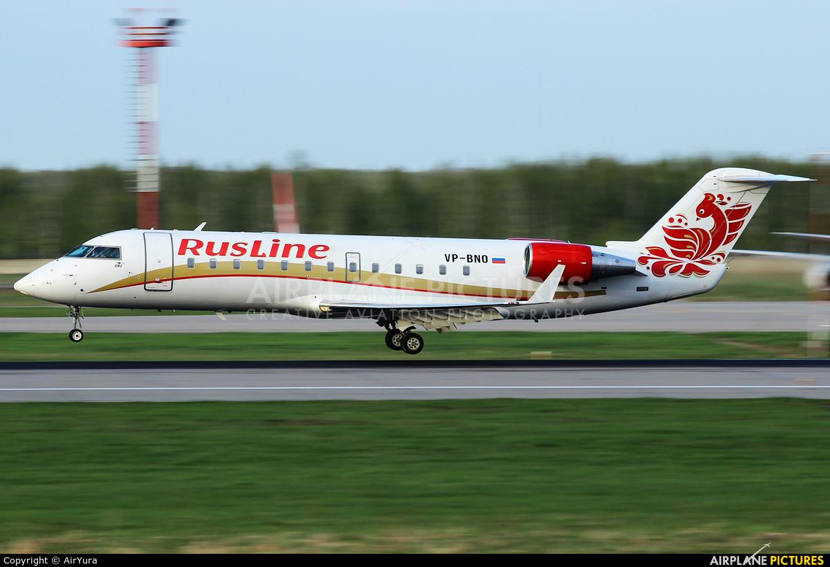 Rusline VP-BNO aircraft at Moscow - Domodedovo