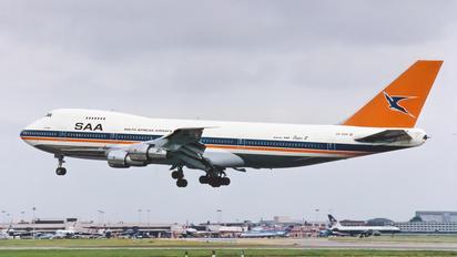 ZS-SAN - South African Airways Boeing 747-200