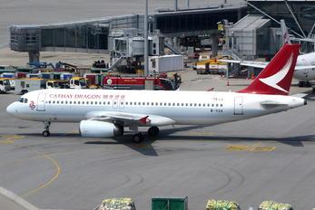 B-HSN - Dragonair Airbus A320