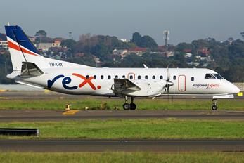 VH-KRX - Regional Air Express (REX) SAAB 340