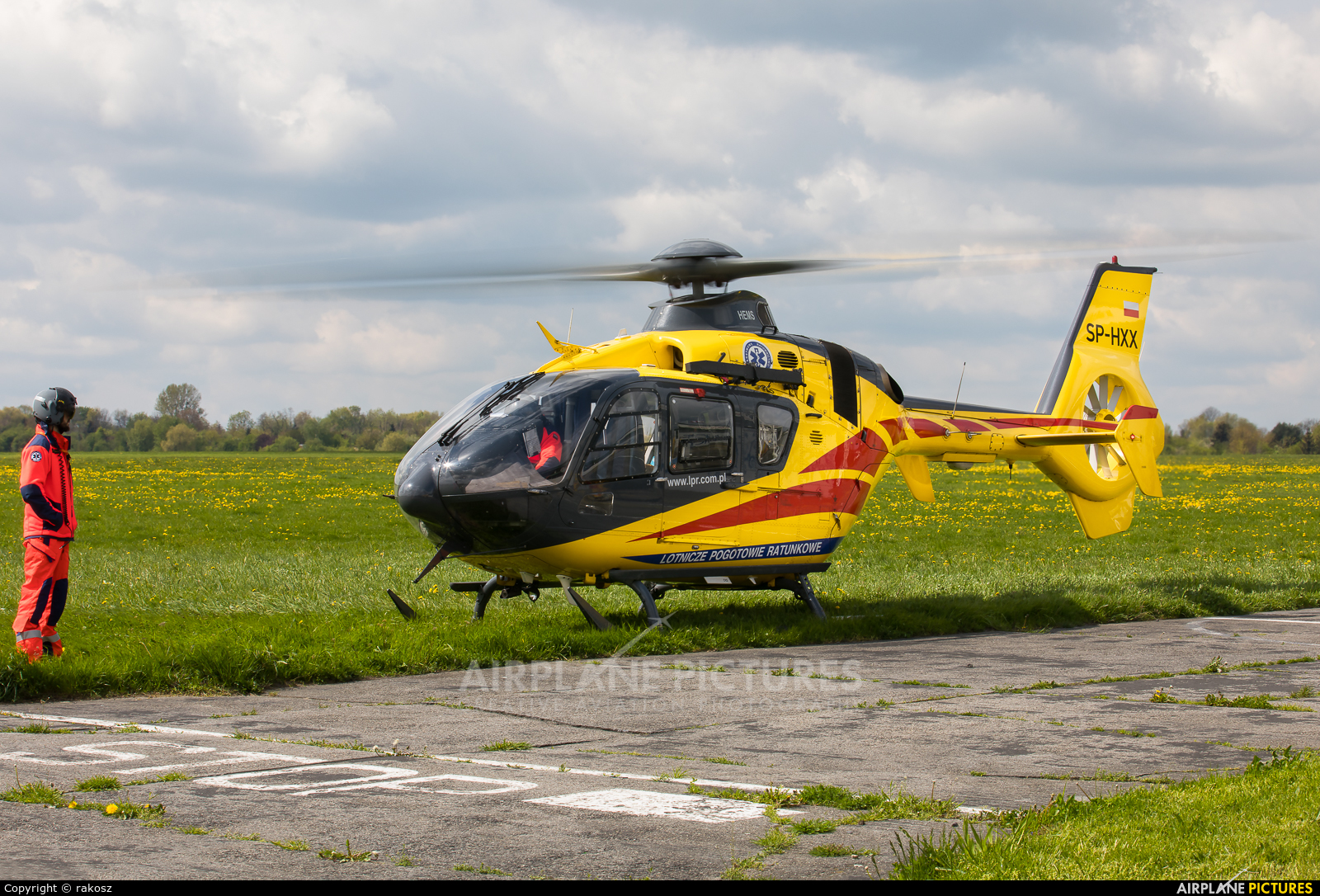 Polish Medical Air Rescue - Lotnicze Pogotowie Ratunkowe SP-HXX aircraft at Gliwice