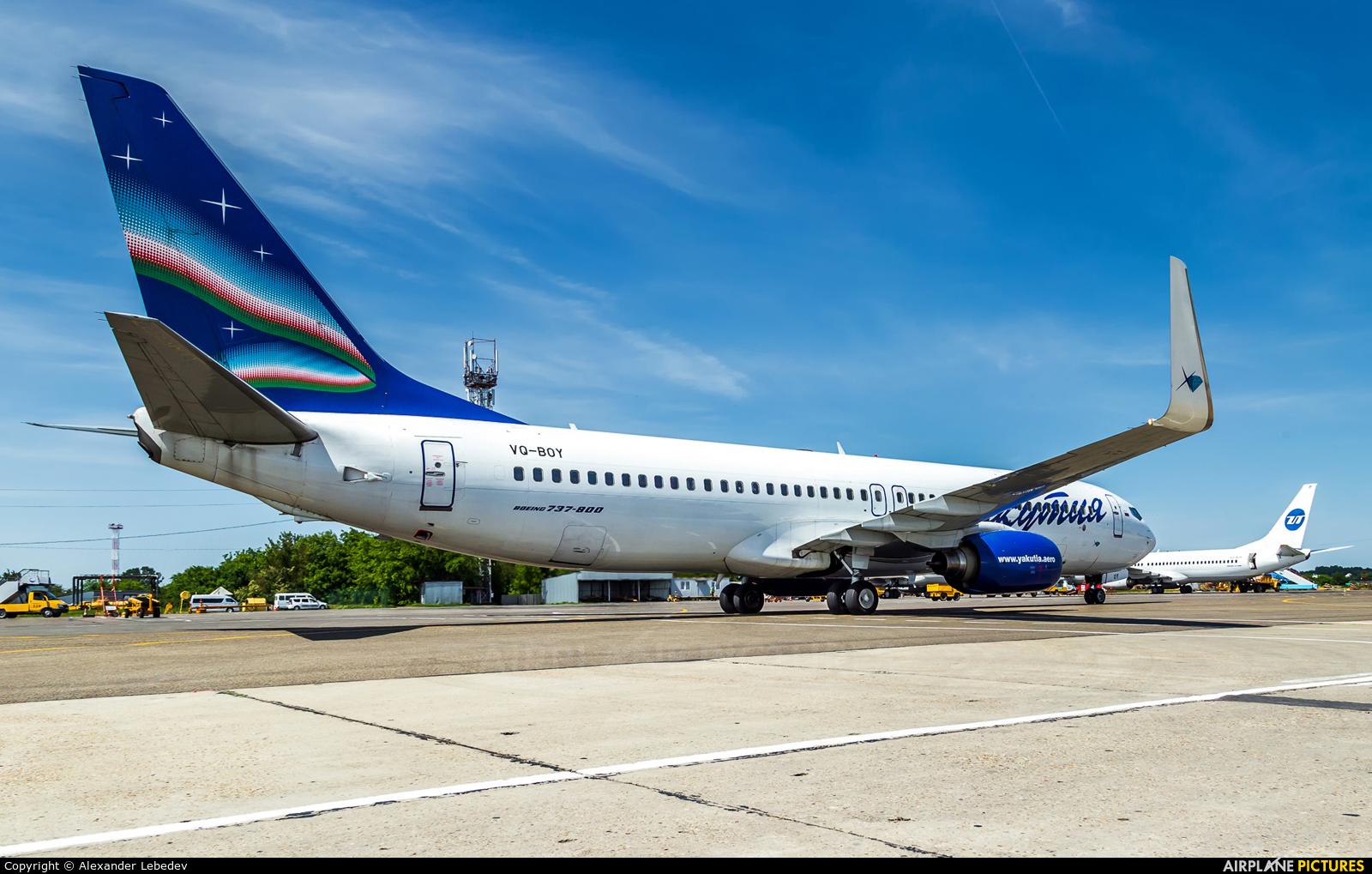 Yakutia Airlines VQ-BOY aircraft at Krasnodar