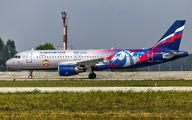 VP-BWD - Aeroflot Airbus A320 aircraft