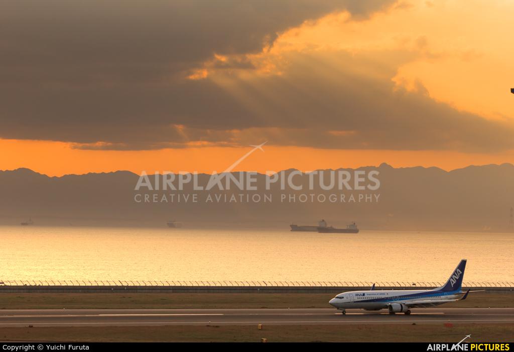 ANA - All Nippon Airways JA83AN aircraft at Chubu Centrair Intl