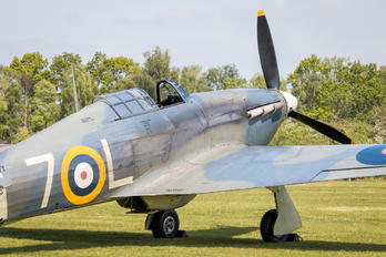 G-BKTH - The Shuttleworth Collection Hawker Sea Hurricane IB
