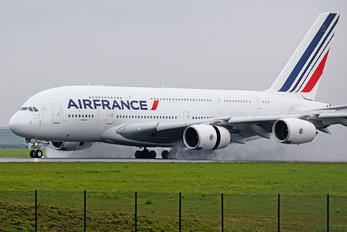 F-HPJE - Air France Airbus A380