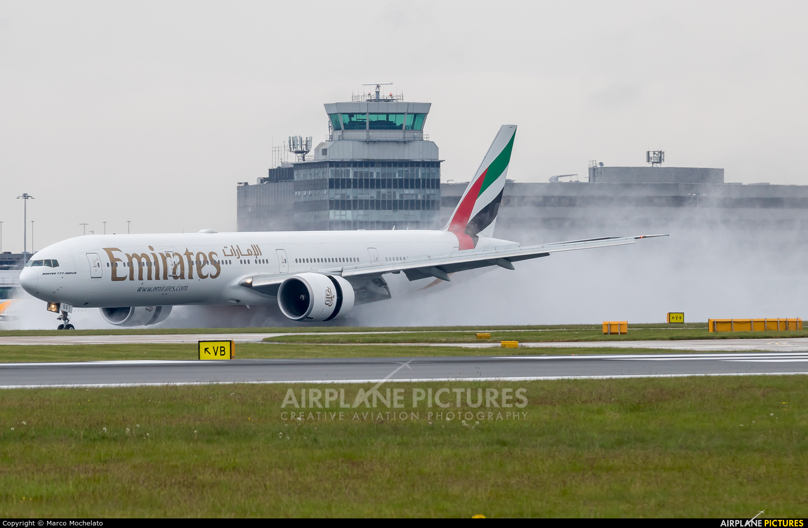 Emirates Airlines A6-EGG aircraft at Manchester