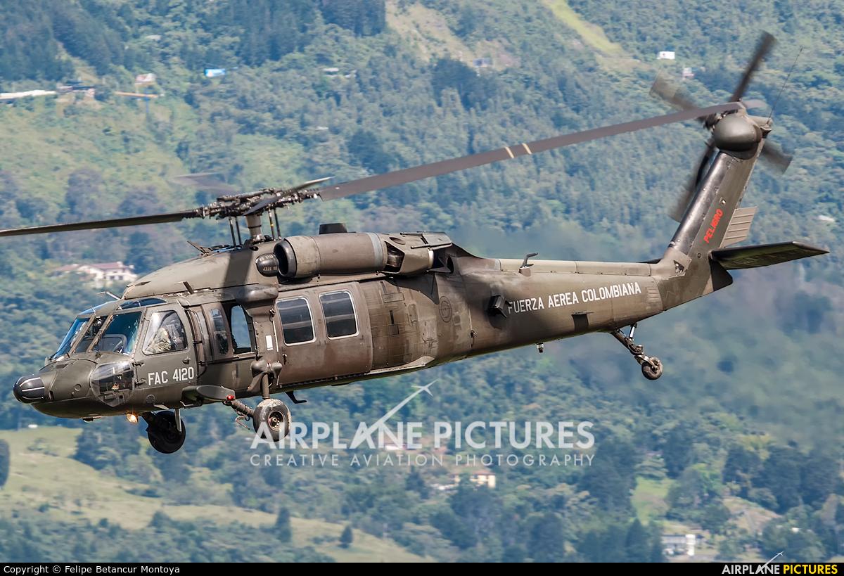 Colombia - Air Force FAC-4120 aircraft at Medellin - Olaya Herrera
