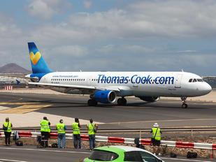 G-DHJH - Thomas Cook Airbus A321