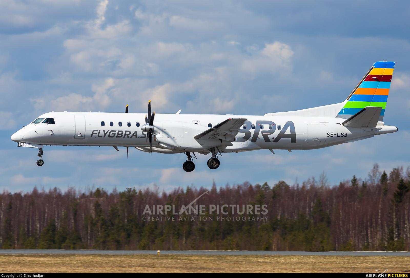 BRA (Sweden) SE-LSB aircraft at Helsinki - Vantaa