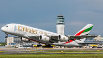 A6-EEY - Emirates Airlines Airbus A380 aircraft