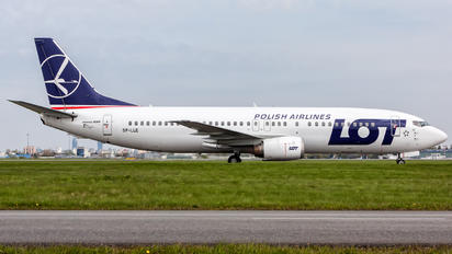 SP-LLE - LOT - Polish Airlines Boeing 737-400