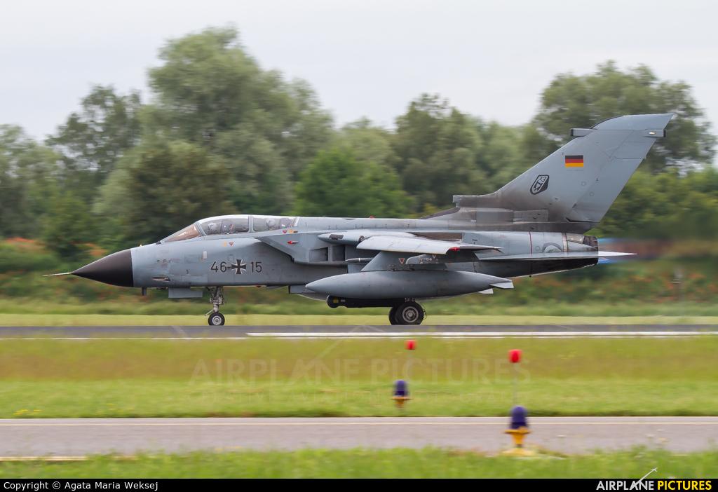 Germany - Air Force 46+15 aircraft at Neuburg - Zell