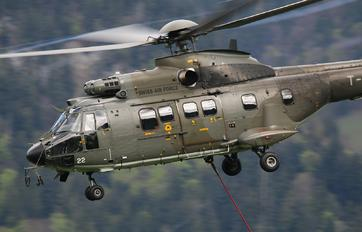 T-322 - Switzerland - Air Force Aerospatiale AS332 Super Puma