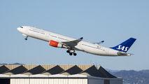 LN-RKS - SAS - Scandinavian Airlines Airbus A330-300 aircraft