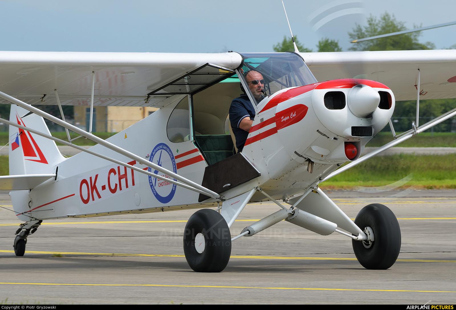Private OK-CHT aircraft at Hradec Králové