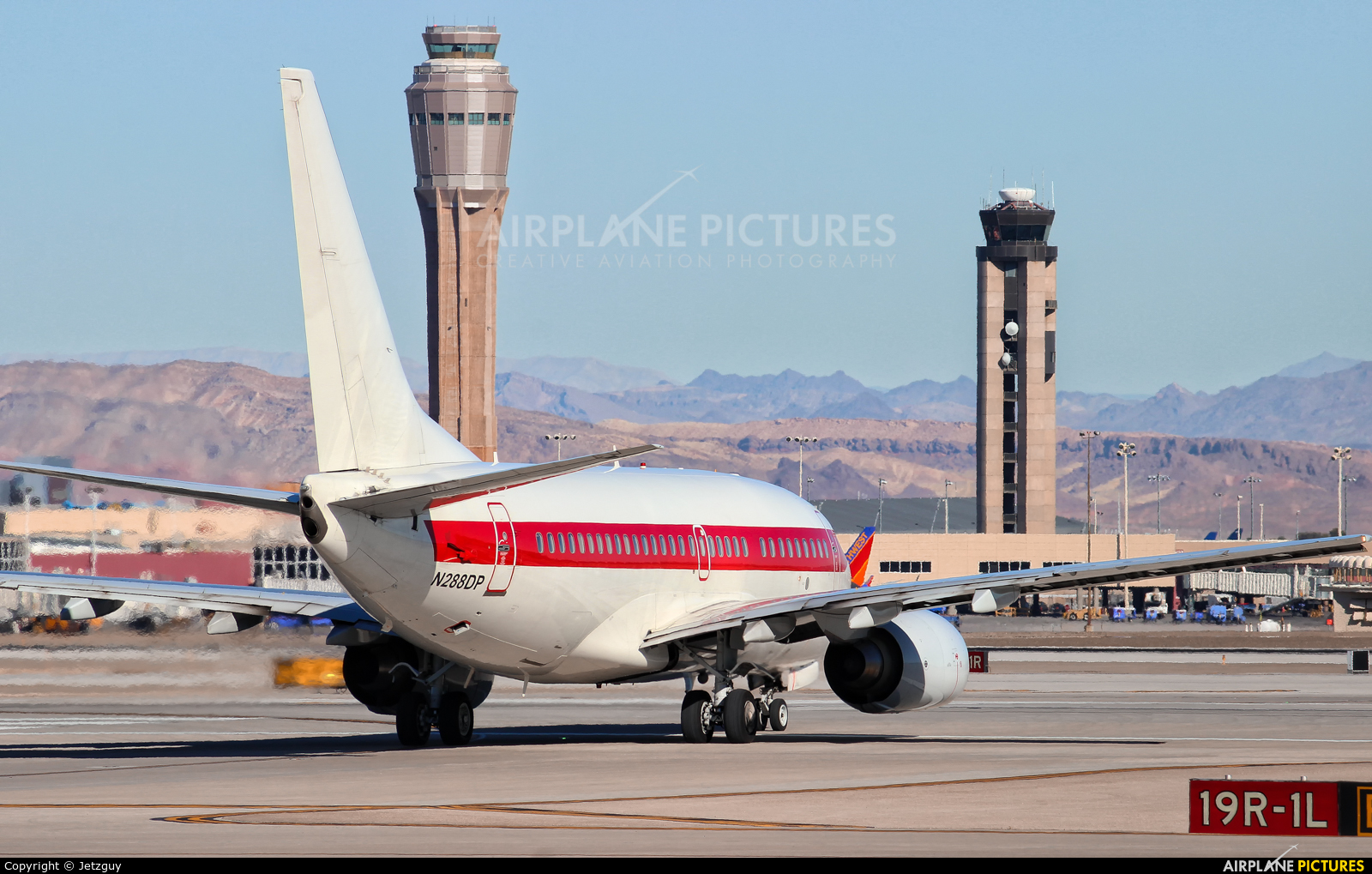 EG&G (Janet Airlines)  N288DP aircraft at Las Vegas - McCarran Intl