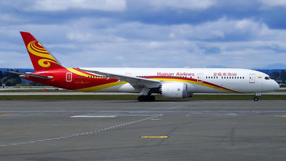 B-7837 - Hainan Airlines Boeing 787-9 Dreamliner