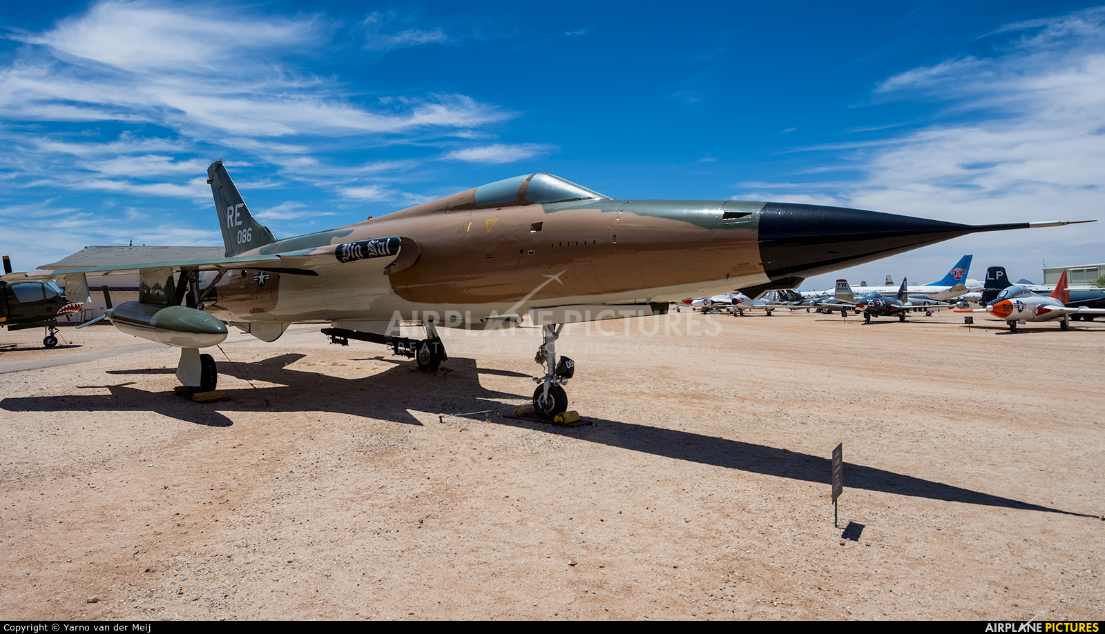 RE086 aircraft at Tucson - Pima Air & Space Museum