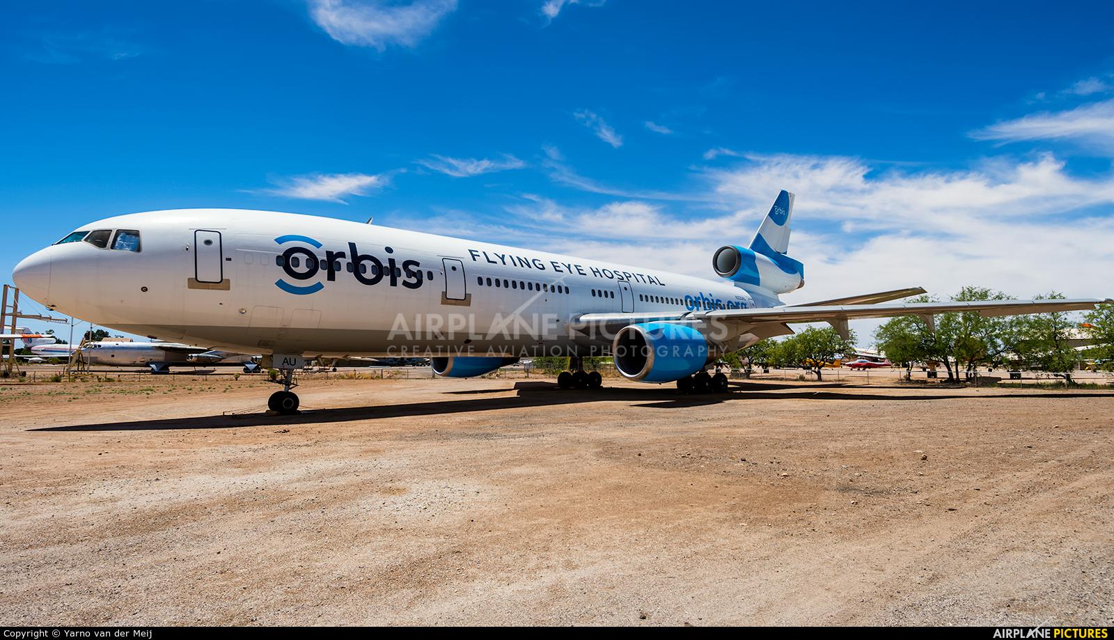 Orbis N220AU aircraft at Tucson - Pima Air & Space Museum
