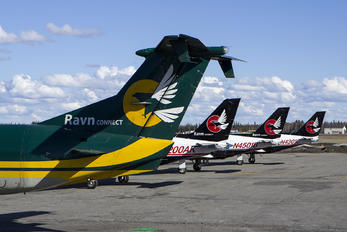 N404GV - RAVN Alaska Beechcraft 1900C Airliner
