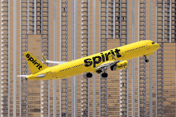 N665NK - Spirit Airlines Airbus A321