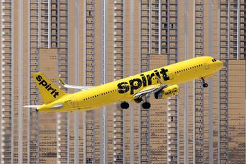 N665NK - Spirit Airlines Airbus A321