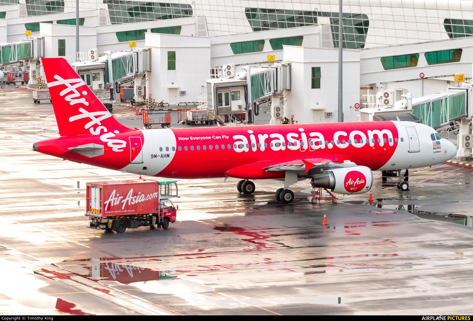 AirAsia (Malaysia) 9M-AHM aircraft at Kuala Lumpur Intl