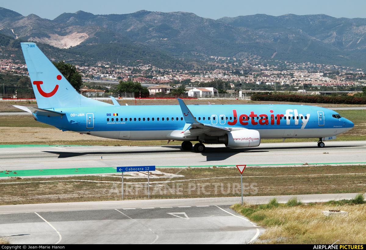 Jetairfly (TUI Airlines Belgium) OO-JAH aircraft at Málaga