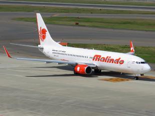 9M-LNY - Malindo Air Boeing 737-800