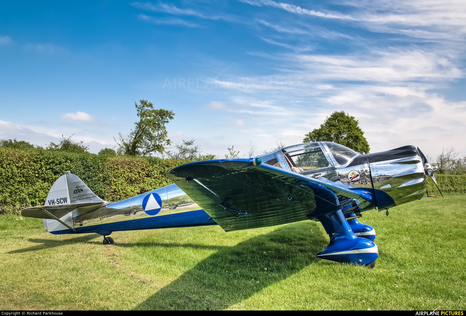 Private VH-SCW aircraft at Old Warden