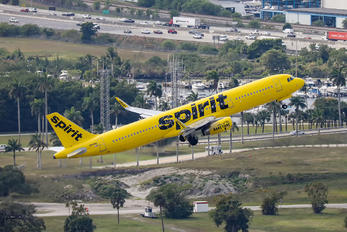 N661NK - Spirit Airlines Airbus A321