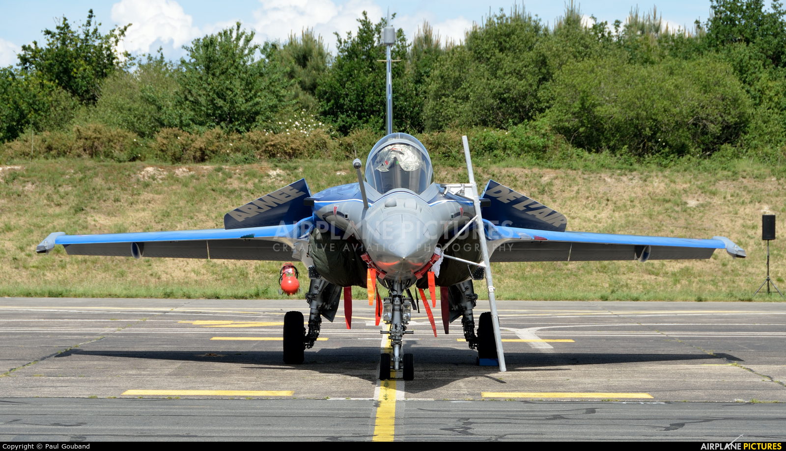 France - Air Force 4-GL aircraft at Bordeaux - Merignac