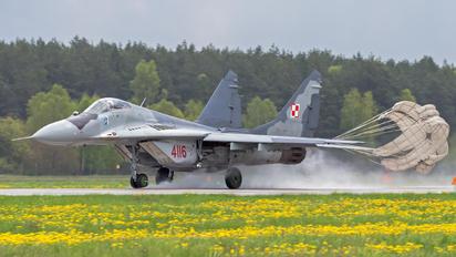4116 - Poland - Air Force Mikoyan-Gurevich MiG-29G