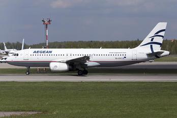 SX-DVY - Aegean Airlines Airbus A320