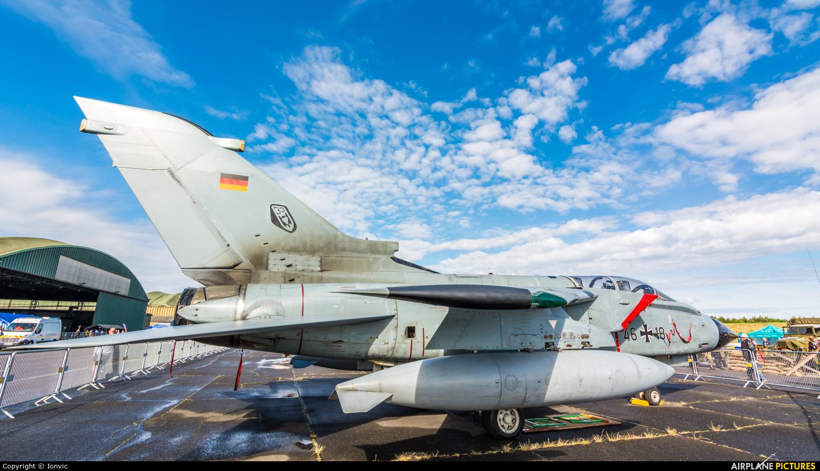 Germany - Air Force 46+18 aircraft at Bordeaux - Merignac