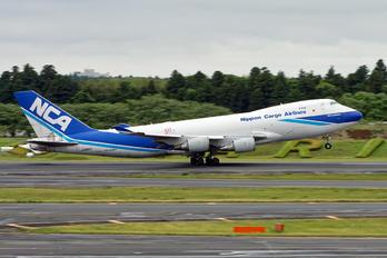 JA06KZ - Nippon Cargo Airlines Boeing 747-400F, ERF