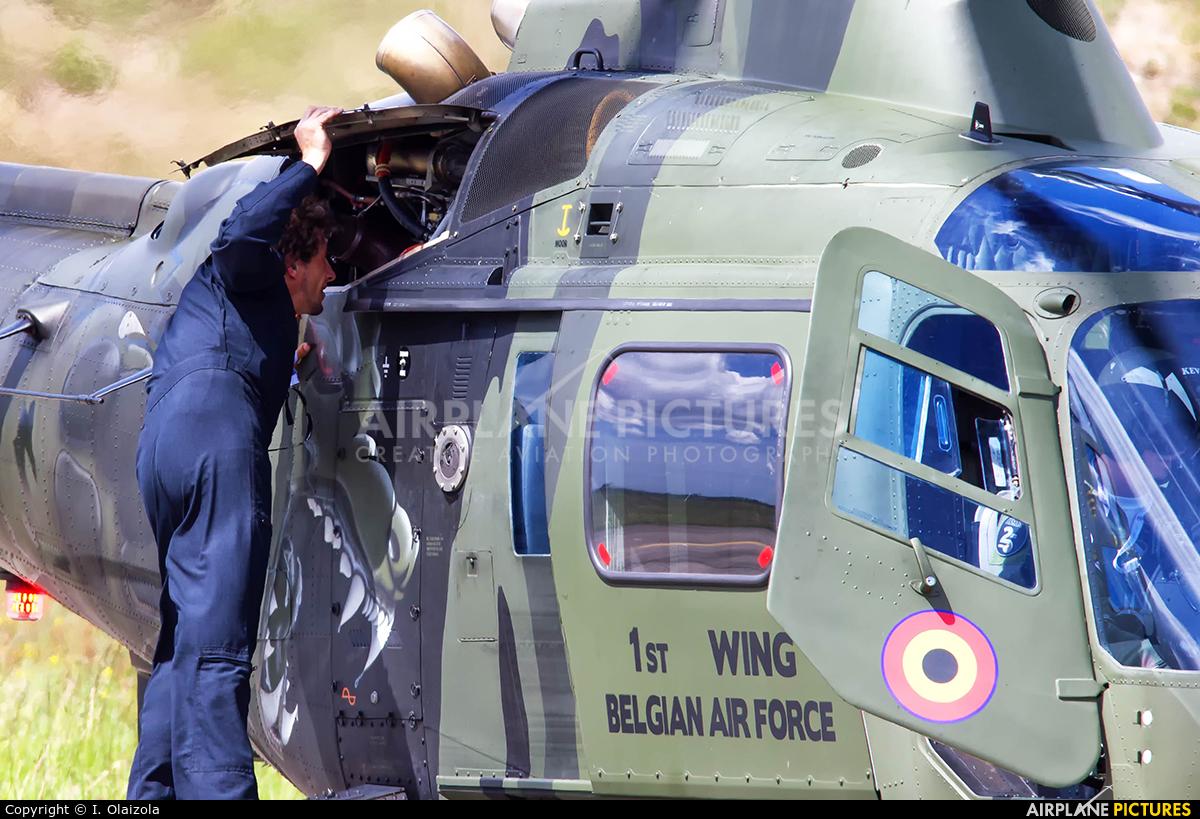 Belgium - Air Force H-29 aircraft at Bordeaux - Merignac