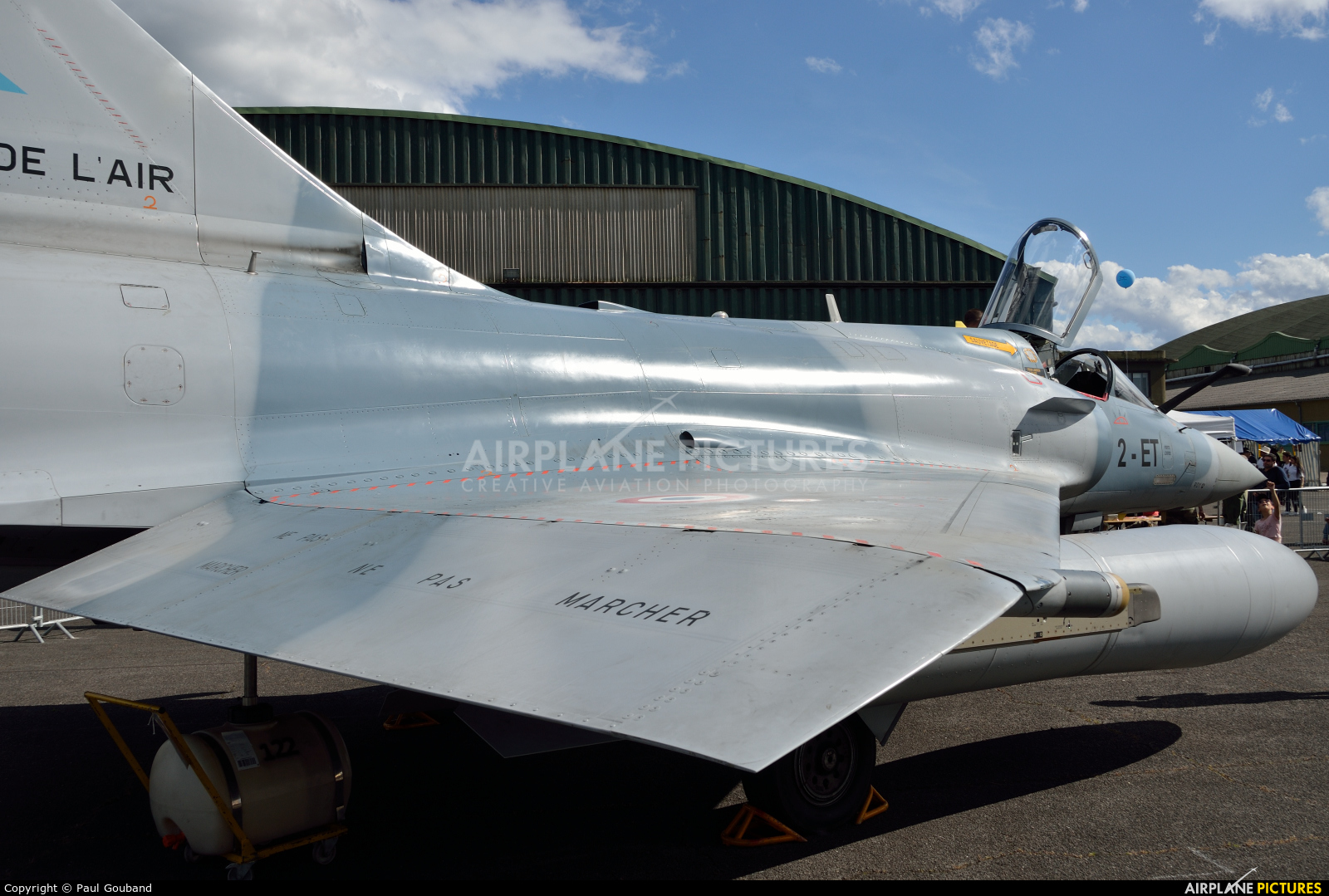 France - Air Force 2-ET aircraft at Bordeaux - Merignac