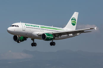 D-ASTB - Germania Airbus A319