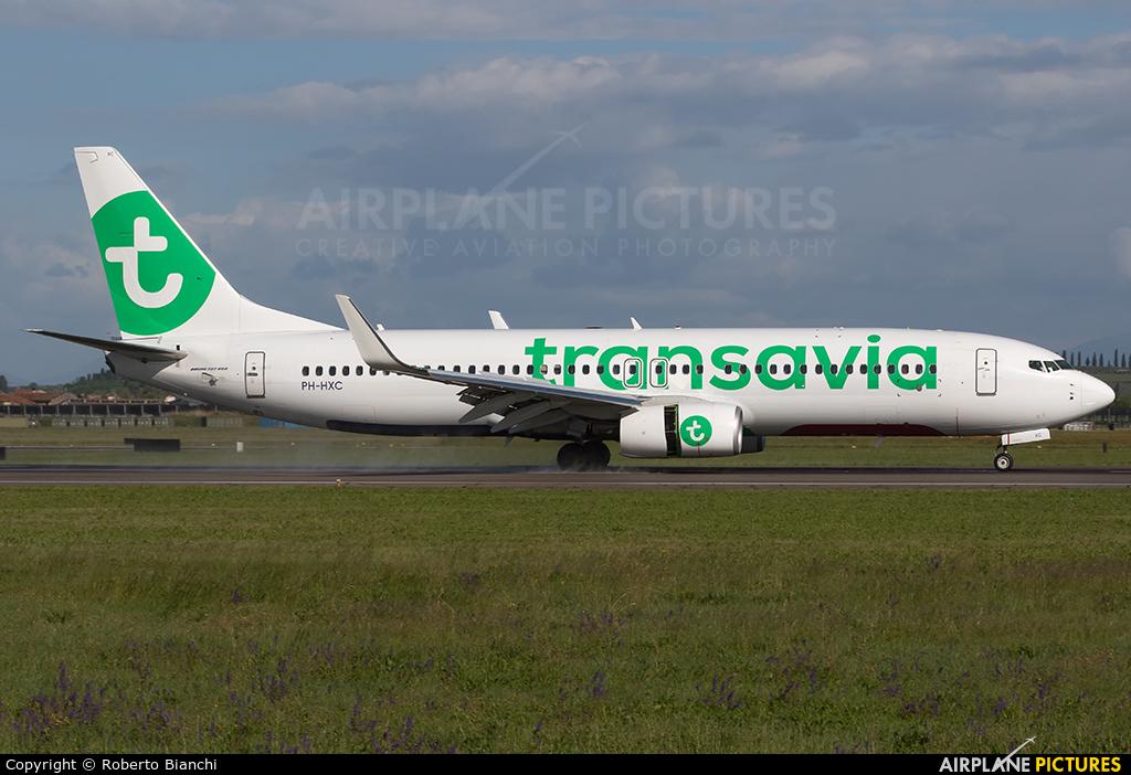 Transavia PH-HXC aircraft at Verona - Villafranca