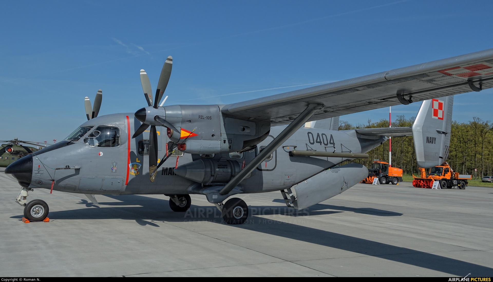 Poland - Navy 0404 aircraft at Powidz
