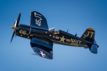 N713JT - Private Vought F4U Corsair